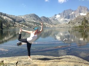 Dancer at Garnet Lake