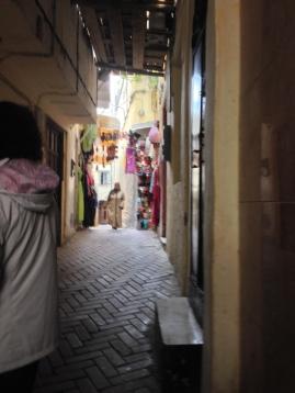 inside the kasbah