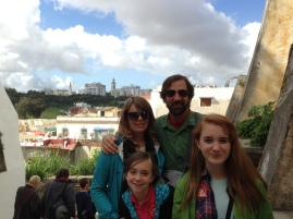 walking around Tangier