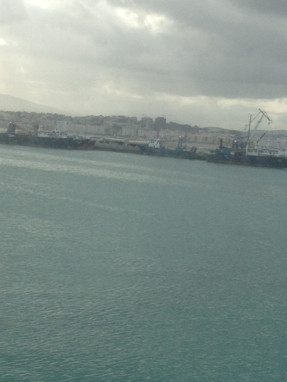 Tangier - view from the ferry