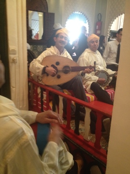 musicians that played during our Moroccan lunch