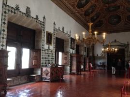 Inside the palace