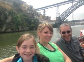 me, Doug, and Momo on the boat tour
